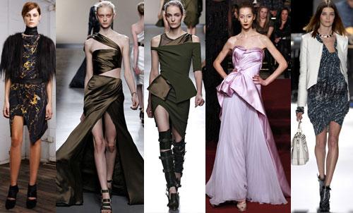 Платья с ассиметричным подолом
