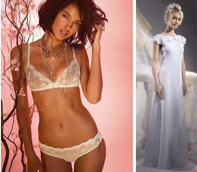 Как подобрать белье под максимально закрытое свадебное платье
