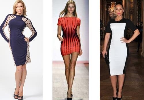 Уменьшение платья в