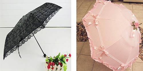 зонты в стиле Лолита - какие они