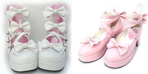 обувь в стиле Лолиты