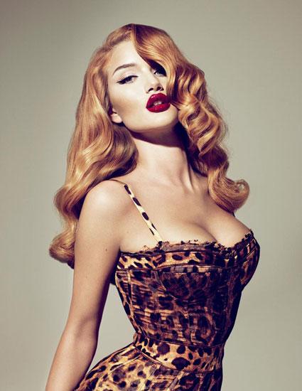 Макияж под леопардовое платье