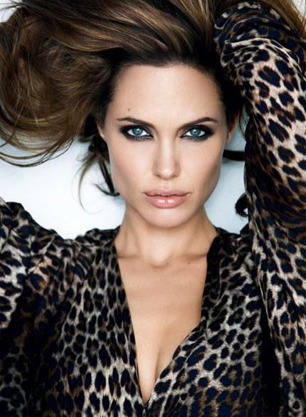 вечерний макияж под леопардовое платье