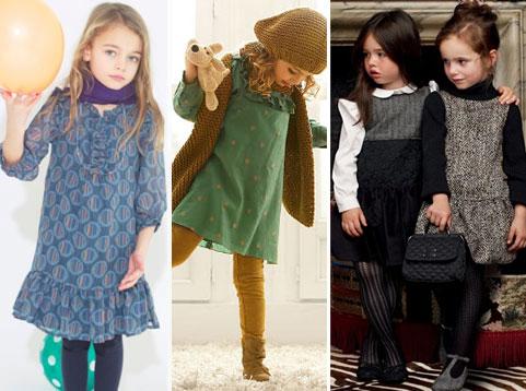 как выбрать осеннее платье для девочки