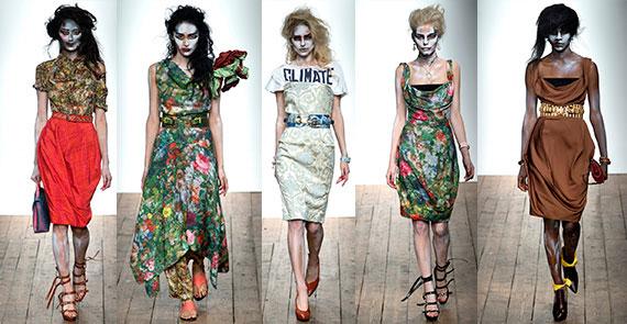 Неделя моды в Лондоне: весна-лето 2014 Vivienne Westwood