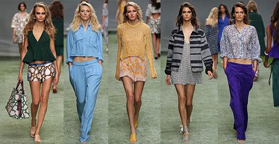 Неделя моды в Лондоне: весна-лето 2014 Topshop Unique