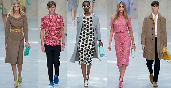 Неделя моды в Лондоне: весна-лето 2014 Burberry