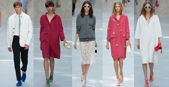 Неделя моды в Лондоне: Burberry