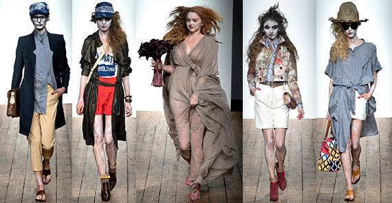 Неделя моды в Лондоне: Vivienne Westwood