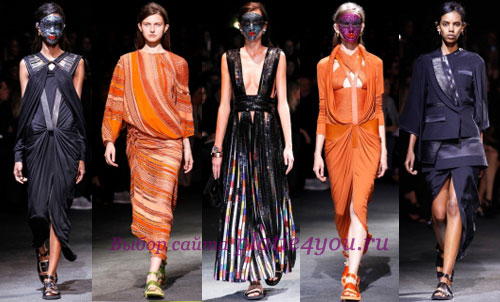 Givenchy, Неделя моды в Париже: весна-лето 2014