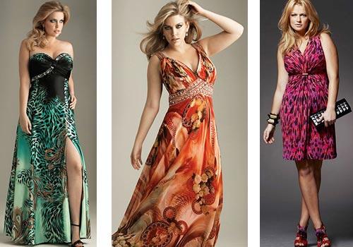как выбрать платье женщине с полными бедрами