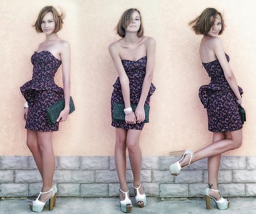 как выбрать платье с баской