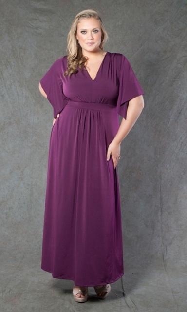 Платья в стиле ампир для полных новые модели сезона 59
