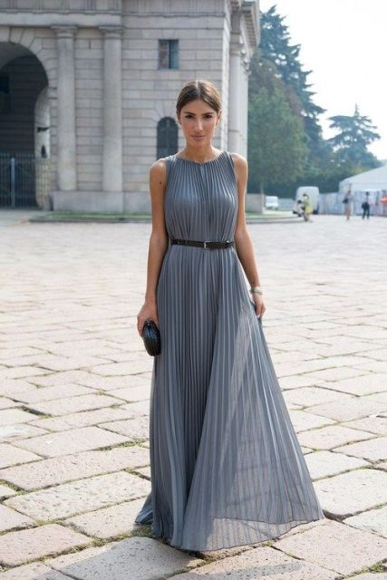 Балетки с длинным платьем