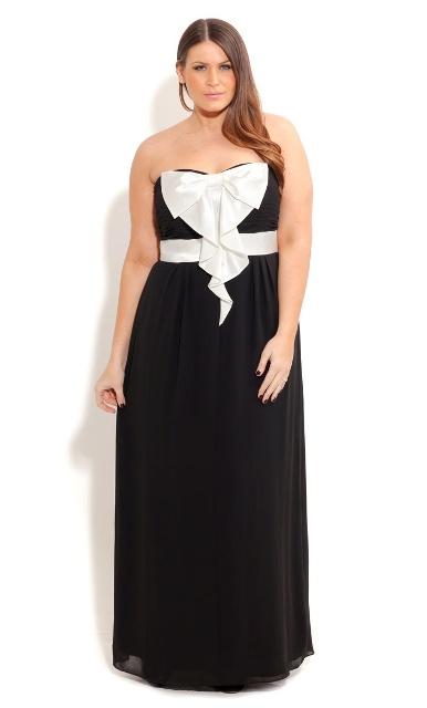 платье без бретелей для полной женщины