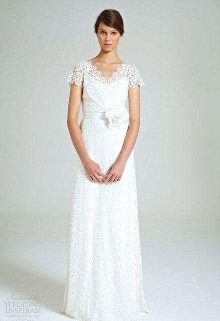 как подобрать платье для венчания
