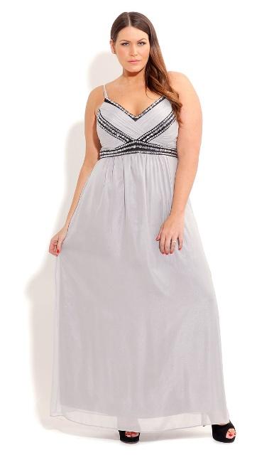 скрыть живот с помощью платья в греческом стиле