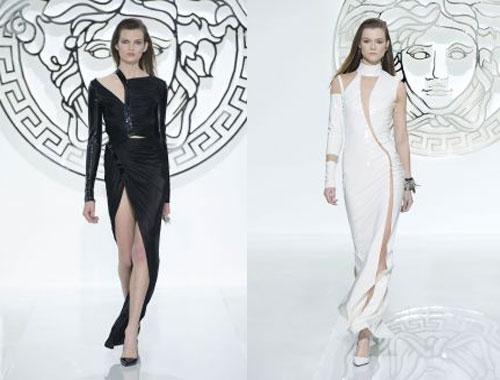 Эффектные вечерние платья от Versace