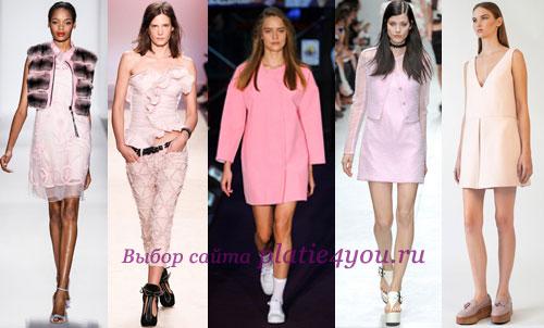С чем сочетать розовый цвет в одежде