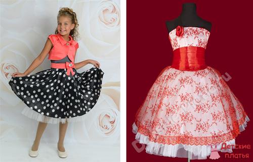 Детсадовский выпускной платье