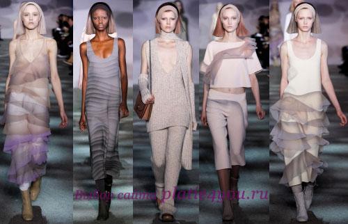 Marc Jacobs Неделя моды в Нью-Йорке