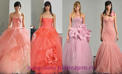 Фото свадебных платьев Vera Wang
