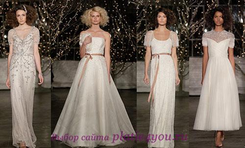 свадебные платья Jenny Packham