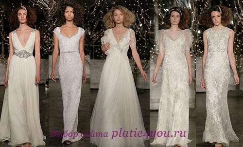 Jenny Packham - платья с недели свадебной моды