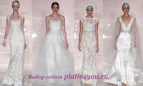 Reem Acra - изящные свадебные платья