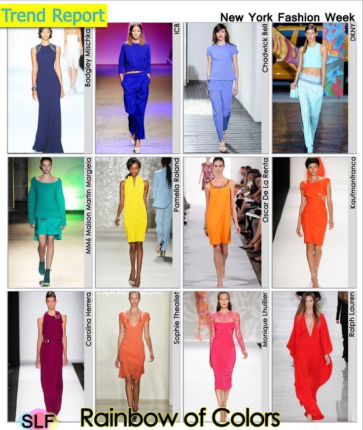 модные цвета и оттенки 2014