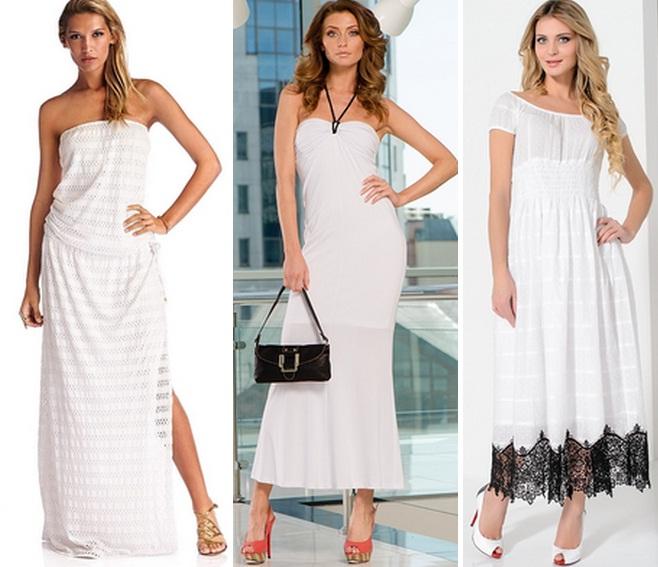Простое платье с чем носить