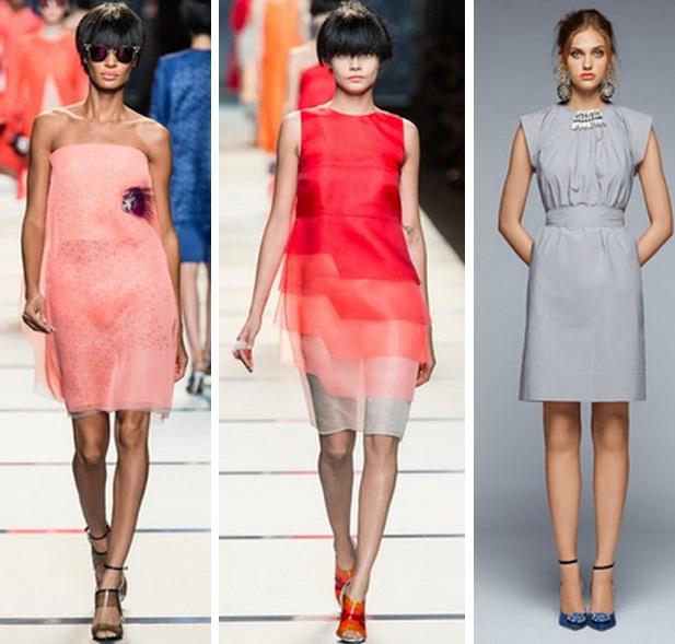 Модные модели легких летних платьев