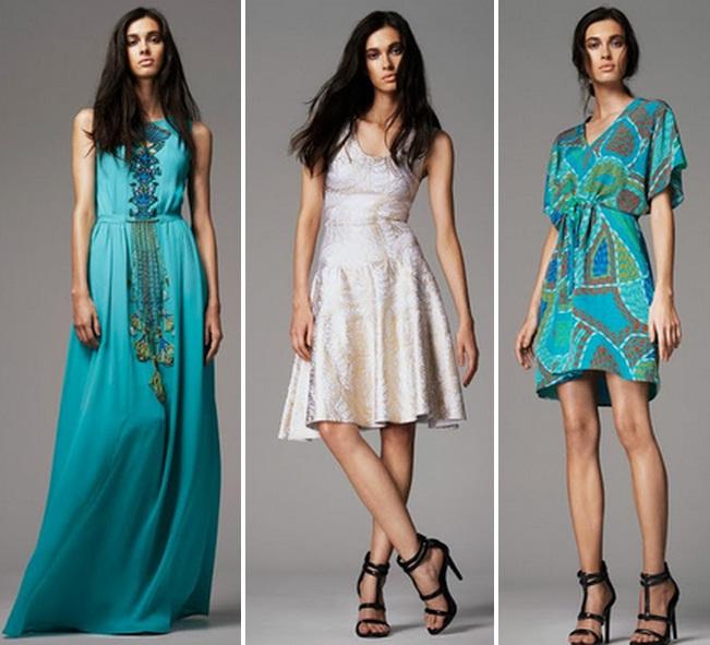 легкие летние платья в пол