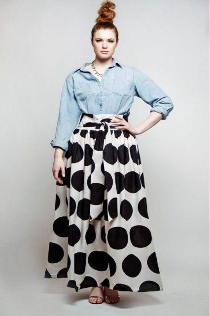 модные юбки 2014 для полных