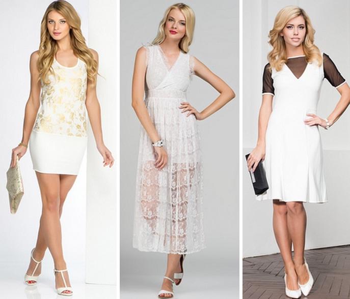 Как подобрать обувь к белому платью