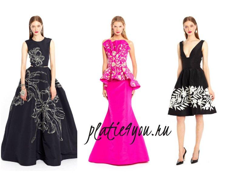 модные вечерние платья 2015