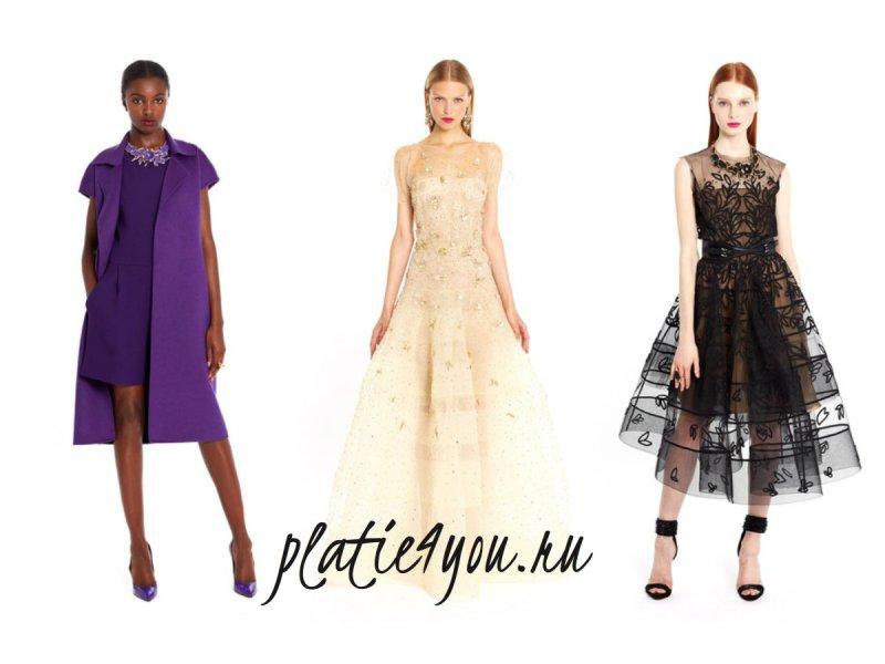 Коктейльные платья модные 2015