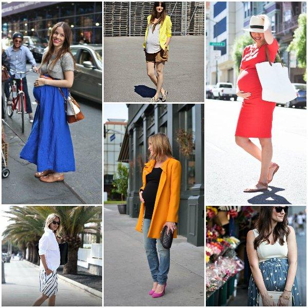 модные беременные 2014