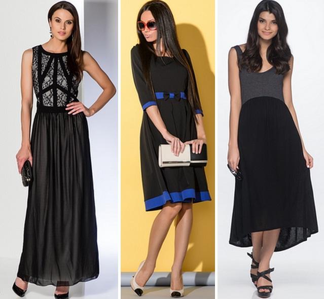 цвет туфель под черное платье