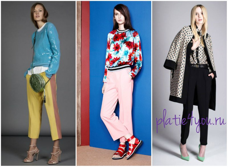 модные расцветки и принты 2015