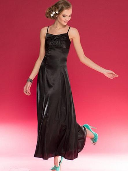 обувь к черному вечернему платью