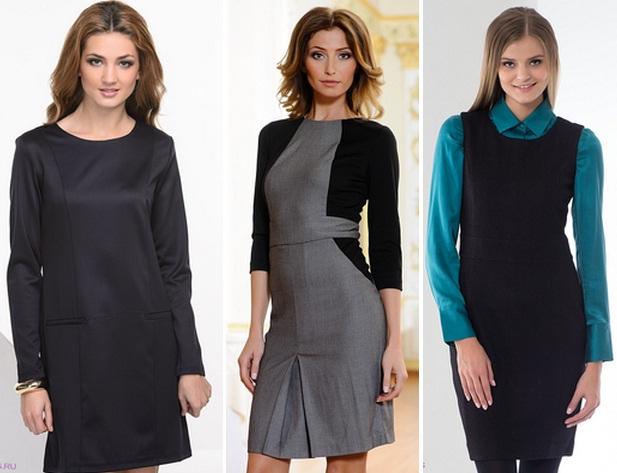 Модные платья для школы