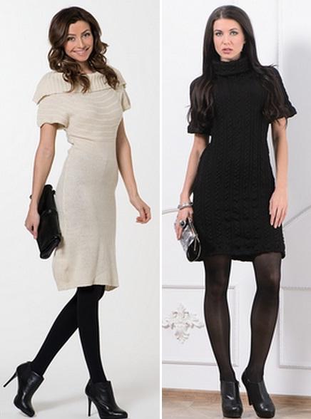 Короткие платья ботильоны