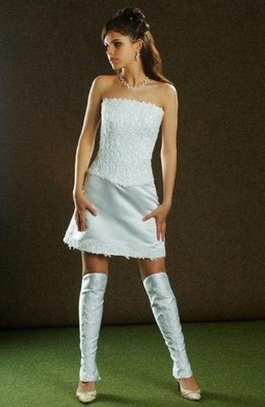 сапоги под платье свадебное