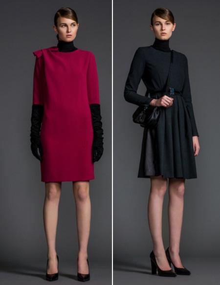 платья осень 2014