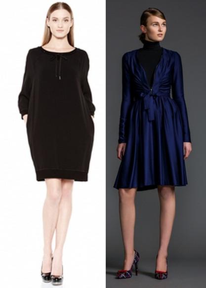 платья зима 2014