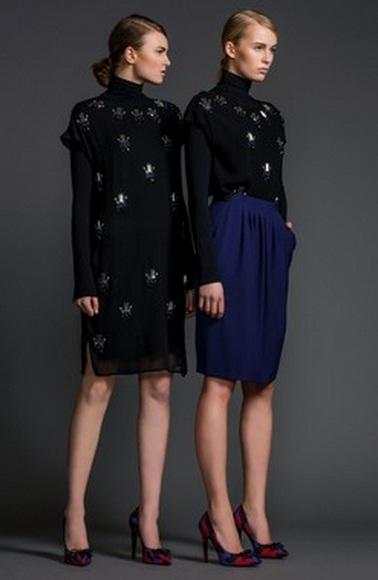 платья осень-зима фото