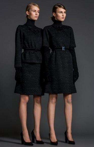 платья осень-зима 2014