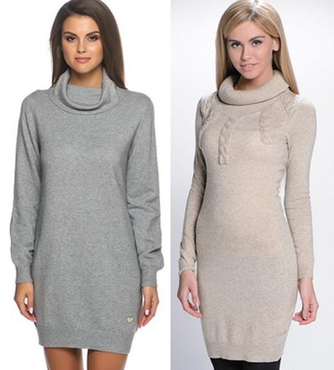 платье-свитер 2015