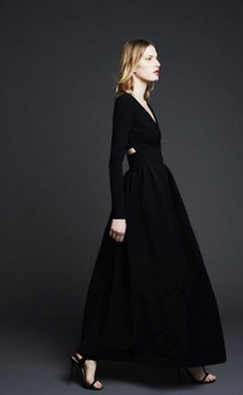 строгое черное платье фото как носить